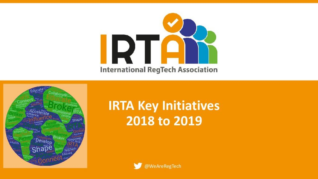 IRTA announces key initiatives for 2018-19