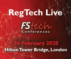 RegTech Live Returns in 2020 – 26 February – London